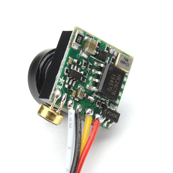 600TVL 1/4 CMOS 2.8mm 90 Degree FPV Camera PAL/NTSC 3.7-5V