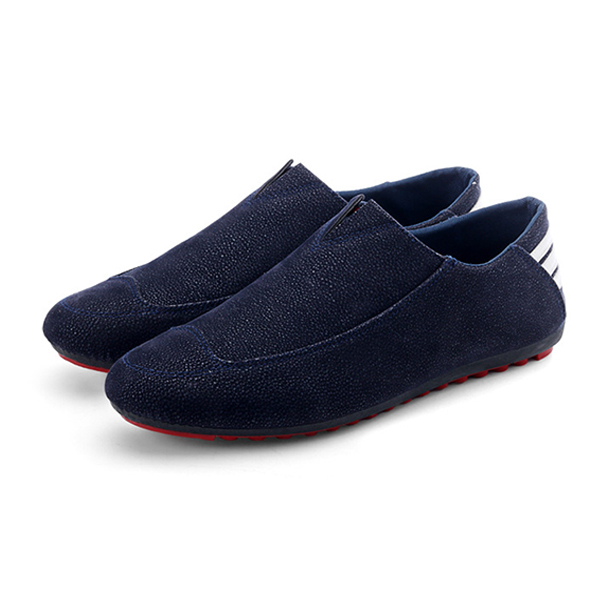 Men Shoes Flats Comfortable Soft Breathable Casual Outdoor Slip On Flats Loafers Shoes