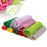 Newborn Baby Soft Colorful Cloth Photography Backdrop Photo Props