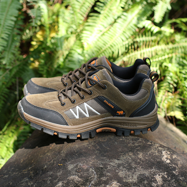 US Size 6.5-10Men Sport Outdoor Mountaineering Running Shoes Casual Comfortable Athletic Shoes