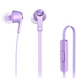 Original Xiaomi Basic Edition Piston In-Ear Stereo Bass Earphone With Remote and Mic for iPhone, iPad, iPod, Xiaomi, Samsung, Huawei and Other Android Smartphones (Purple)