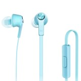 Original Xiaomi Basic Edition Piston In-Ear Stereo Bass Earphone With Remote and Mic for iPhone, iPad, iPod, Xiaomi, Samsung, Huawei and Other Android Smartphones (Blue)