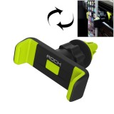 ROCK 360 Degrees Rotating Magnetic Car Air Vent Mount Phone Holder Stand for iPhone 6s & 6s Plus & 6 & 6 Plus, Samsung Galaxy S7 & S7 Edge & S6 / S6 Edge / S6 Edge+ / Note 5 Edge, Sony, HTC, Huawei, Xiaomi (Green)