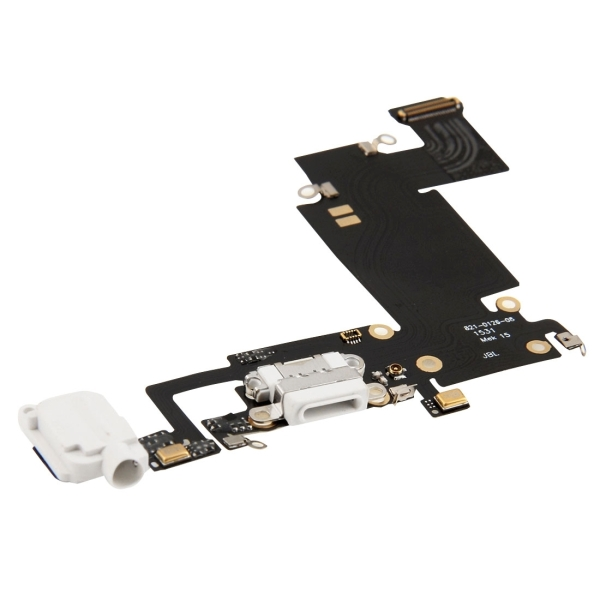 for iPhone 6s Plus White Charging Port Flex Cable