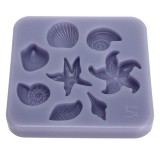 KCASA Hoisin Silicone Fondant Mold Cake Decorating Mould Gumpaste Sugarpaste Mold FDA LFGB