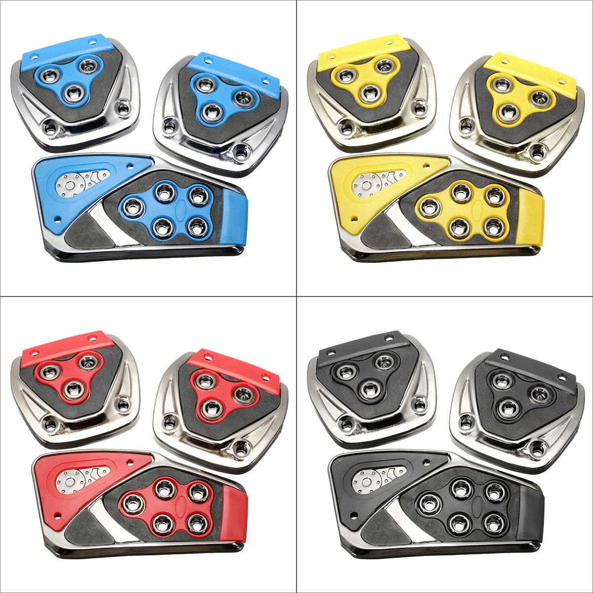 Universal Car Pedal Manual Brake Gas Clutch Accelerator Pedal Cover