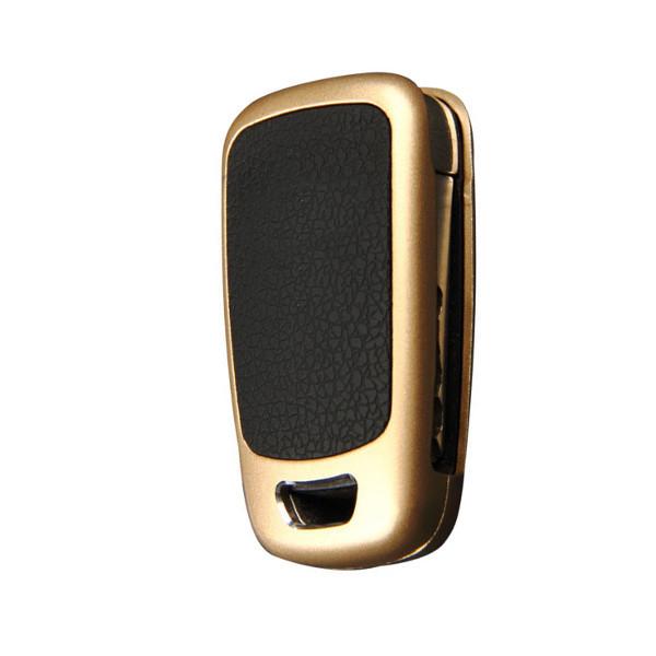Alluminum Alloy Remote Key Cover Shell for Skoda Sigitar Lavida Superb Fabia Yeti Rapid