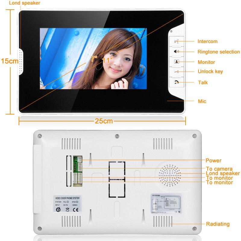 ... bcbcc0be-35c1-5b9b-55c2-f3718b5a51b7.jpg ...  sc 1 st  Alex NLD & SYSD SY813MK13 7inch TFT LCD Video Door Phone Doorbell Intercom ...