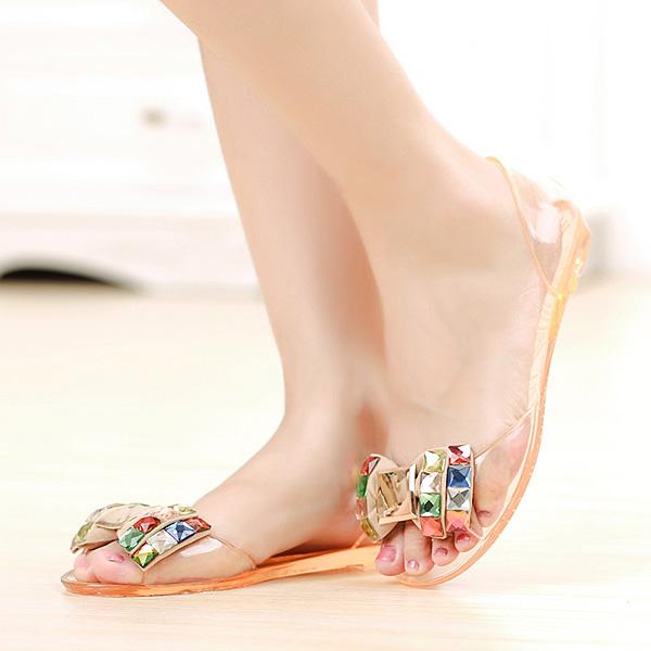 240f8c574e9673 Women Summer Chic Beach Sandals Peep Toe Flat Rhinestone Shoes ·  bebc9f4c-8c05-ed78-8d32-8640b5b92521.jpg ...