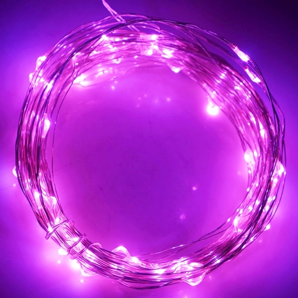Led String Lights Usb : 10m 5V USB Powered 6W 500LM SMD-0603 LED Silver String Light Festival Lamp / Decoration Light ...