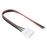 10mm 3 Pin Connector for SMD 3528 & SMD 5050 Single Color LED Strip, Length: 16cm