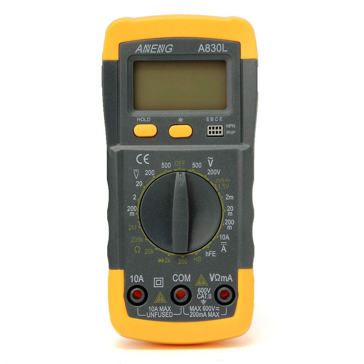 Small Digital Voltmeters Dc : Lcd digital multimeter voltmeter ac dc ohmmeter ammeter
