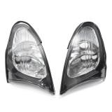 Pair Corner Lights Sidelight For BMW E46 3-Series 4DR 02-05 325i 330i Clear Lens