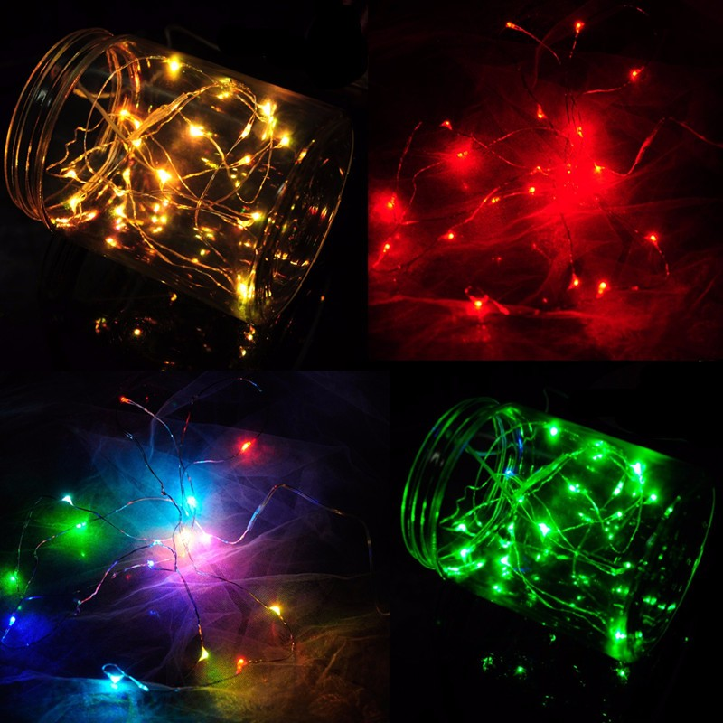 String Lights Outdoor Nz : 5M 50 LED Copper Wire Christmas Outdoor String Fairy Light DC12V Alex NLD