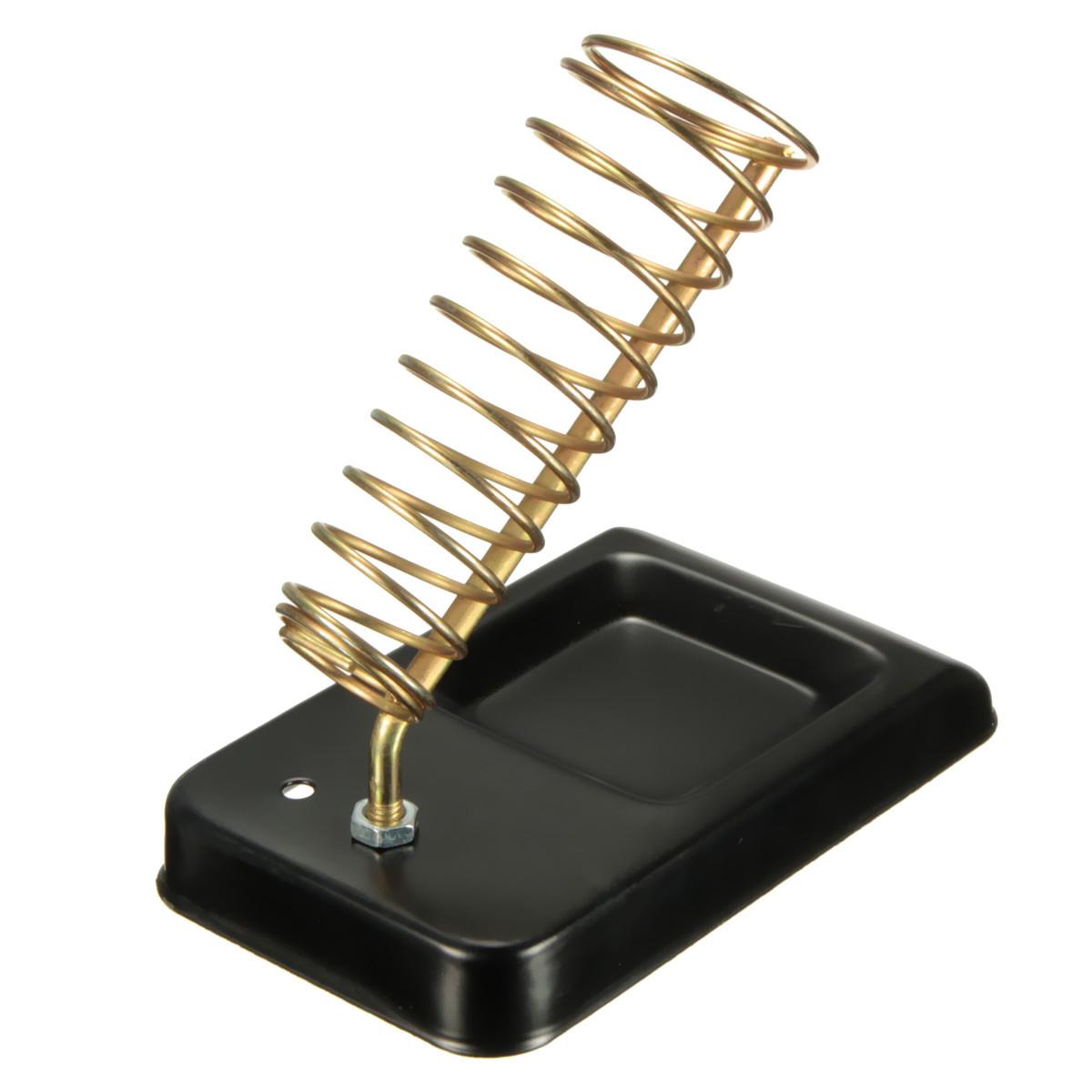 full metal base soldering iron gun holder stand mount support station with screws alex nld. Black Bedroom Furniture Sets. Home Design Ideas
