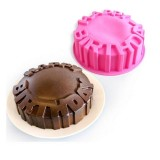 Happy Birthday Silicone Cake Pan Cheese Jelly Pudding Muffin Mold Bread Pastry Baking Mold