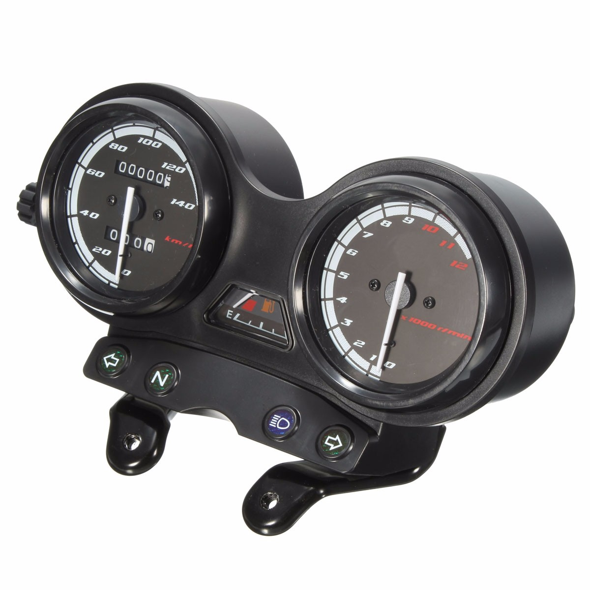Motorcycle Instrument Panel : Rpm motorcycle lcd odometer speedometer for yamaha