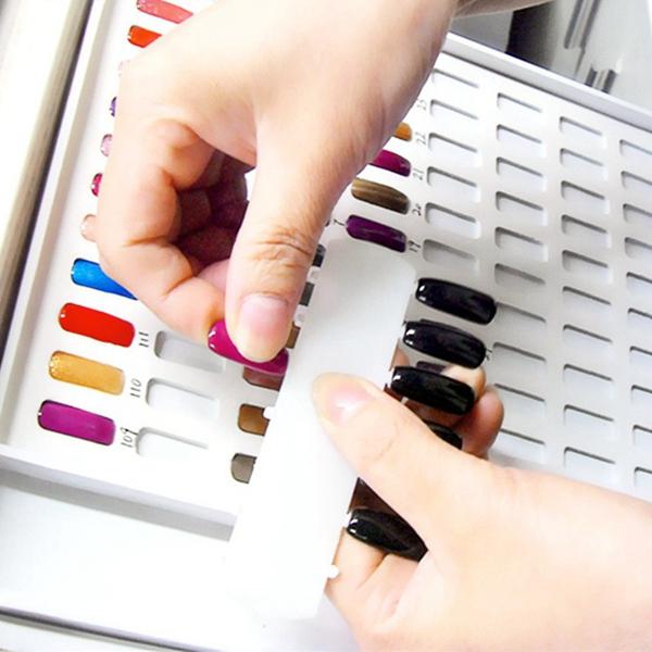 Nail Art UV Gel Tips Display Card Chart Book Hundreds Salon Studio ...