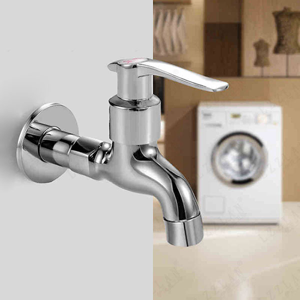 Washing Machine Faucet Mop Pool Sink Tap Wall Mounted Single Handle