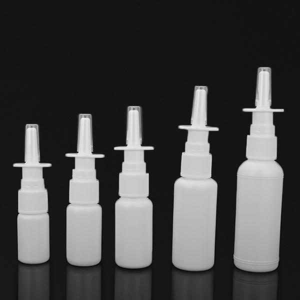 c4941ddaafdd 10/15/20/30/50ml Plastic Empty Nasal Pumps Spray Bottle Mist Oral Atomizers  Nose Personal Care