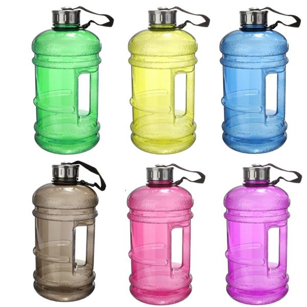 2 2L Safety Environmental Water Bottle Kettle BPA Free Gym Sport Cup  Training