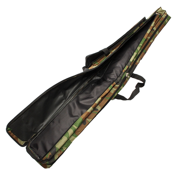 120cm camouflage carp fishing rod tackle bag case padded for Fishing rod case carrier storage bag