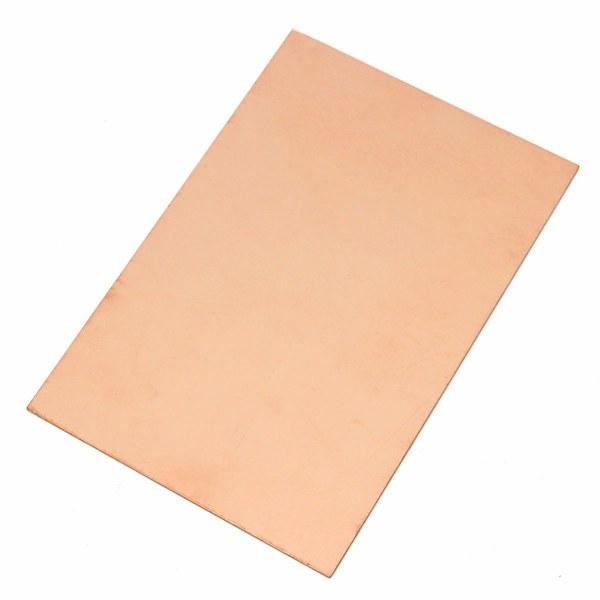 Copper Clad Material : Fr mm single side copper clad laminate pcb circuit
