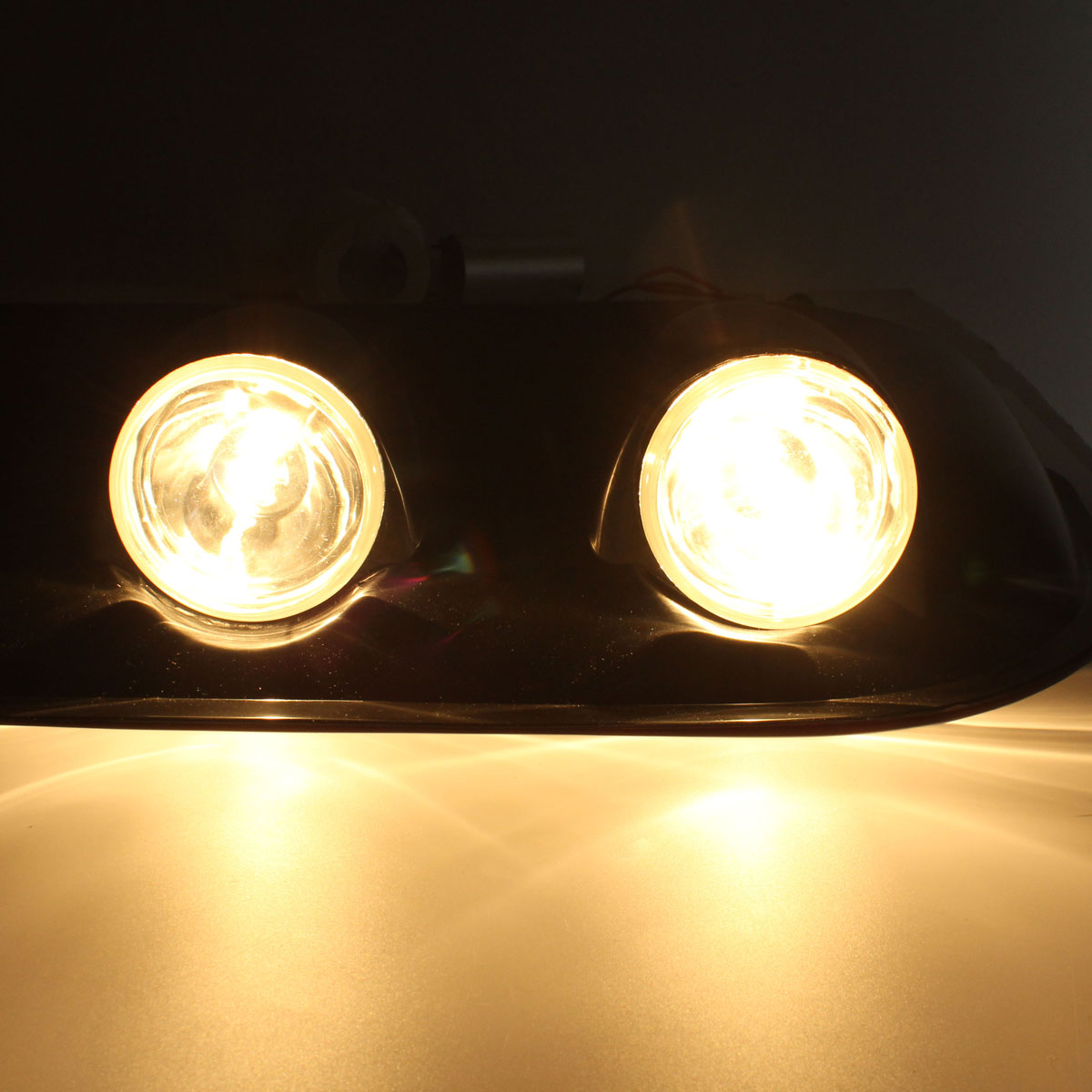 H3 12v 55w Amber Roof Top Combined Lights Fog Lamp For