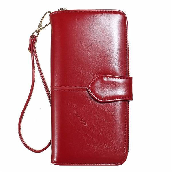 red brighton handbag - Women Long Hasp Wallet Girls Vintage Purse Card Holder Ladies ...