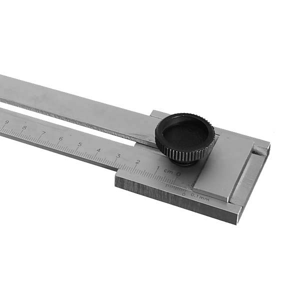 Stainless Steel Marking Gauge 0-200MM/0-250MM/0-300MM 0.1MM Woodworking Measuring Tool Mortising and Tenoning Machine Accessories