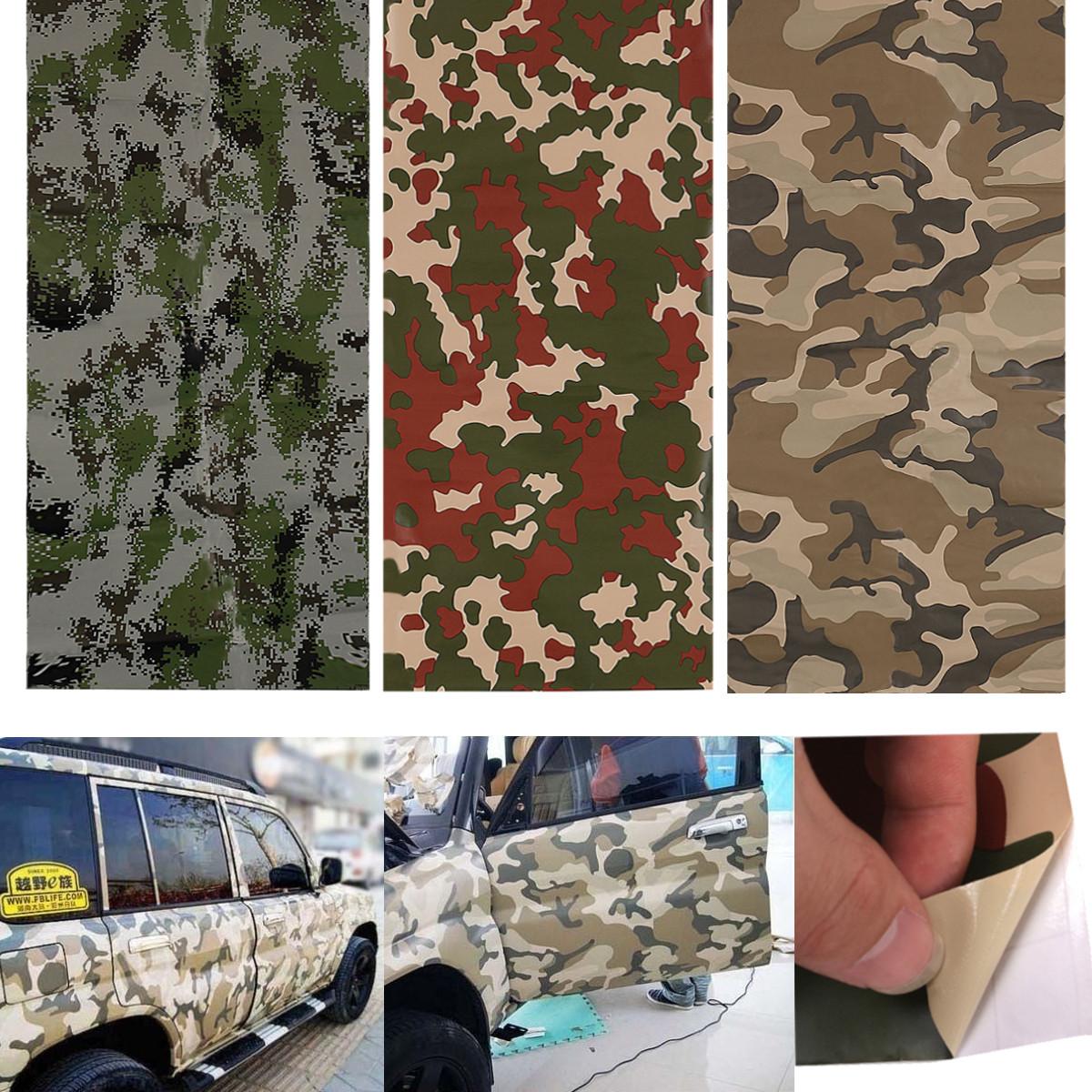 60 215 24 Inch Army Camo Camouflage Desert Vinyl Film Wrap