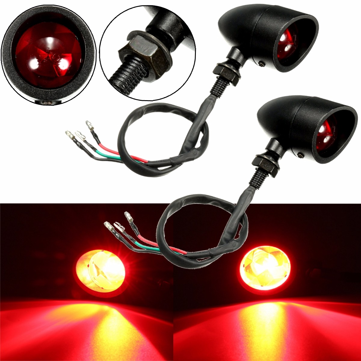 Led Indicator Lights For Motorcycles