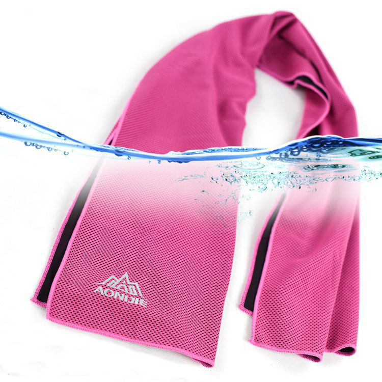 Sports Towel Absorption: AONIJIE Cooling Sport Towel Ice Towel Fitness Running