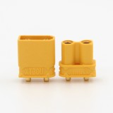 Amass XT30 UPB 2mm Plug Male Female Bullet Connectors Plugs For RC Battery