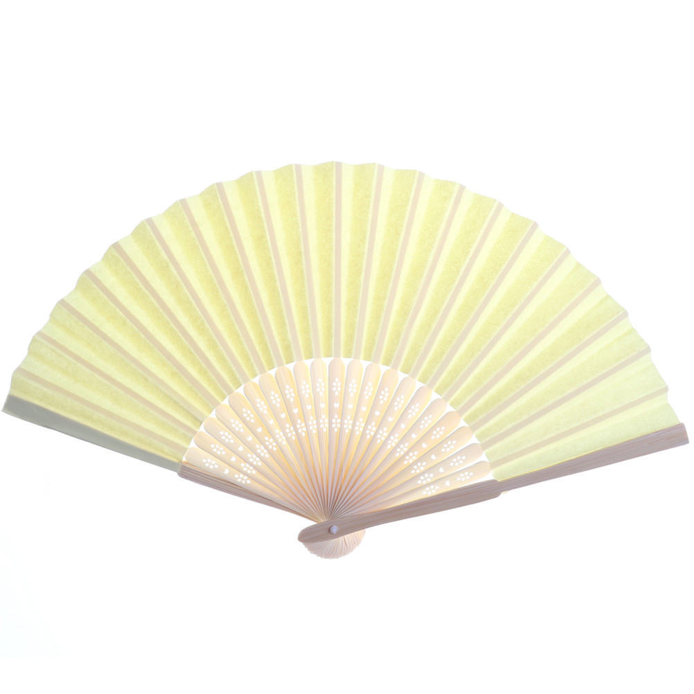 Candy Color Pocket Folding Bamboo Fan Paper Hand Fans Wedding Party ...