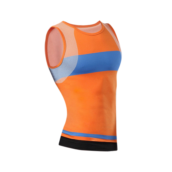 Men Compression Tight Sports Vest Tank Top Stretch Sleeveless Shirt Quick-dry Shapewear Body Shaper