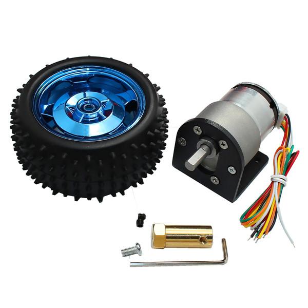 12v 320rpm 12v 107rpm 6v 160rpm dc gear motor encoder for Dc gear motor 6v
