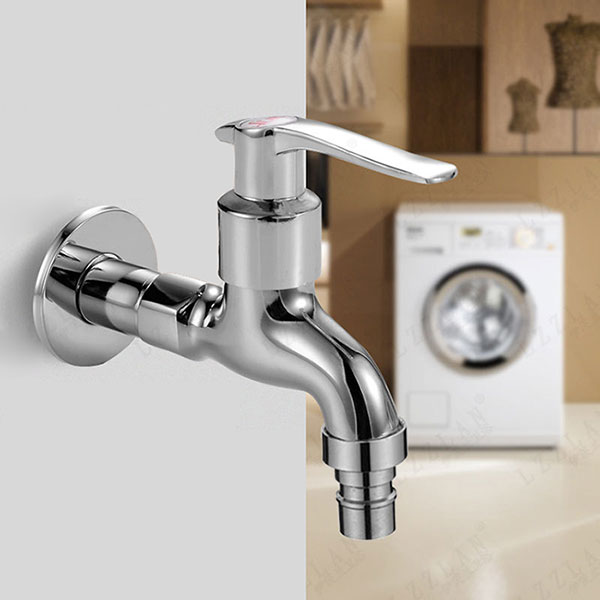 Washing Machine Faucet Mop Pool Sink Tap Wall Mounted