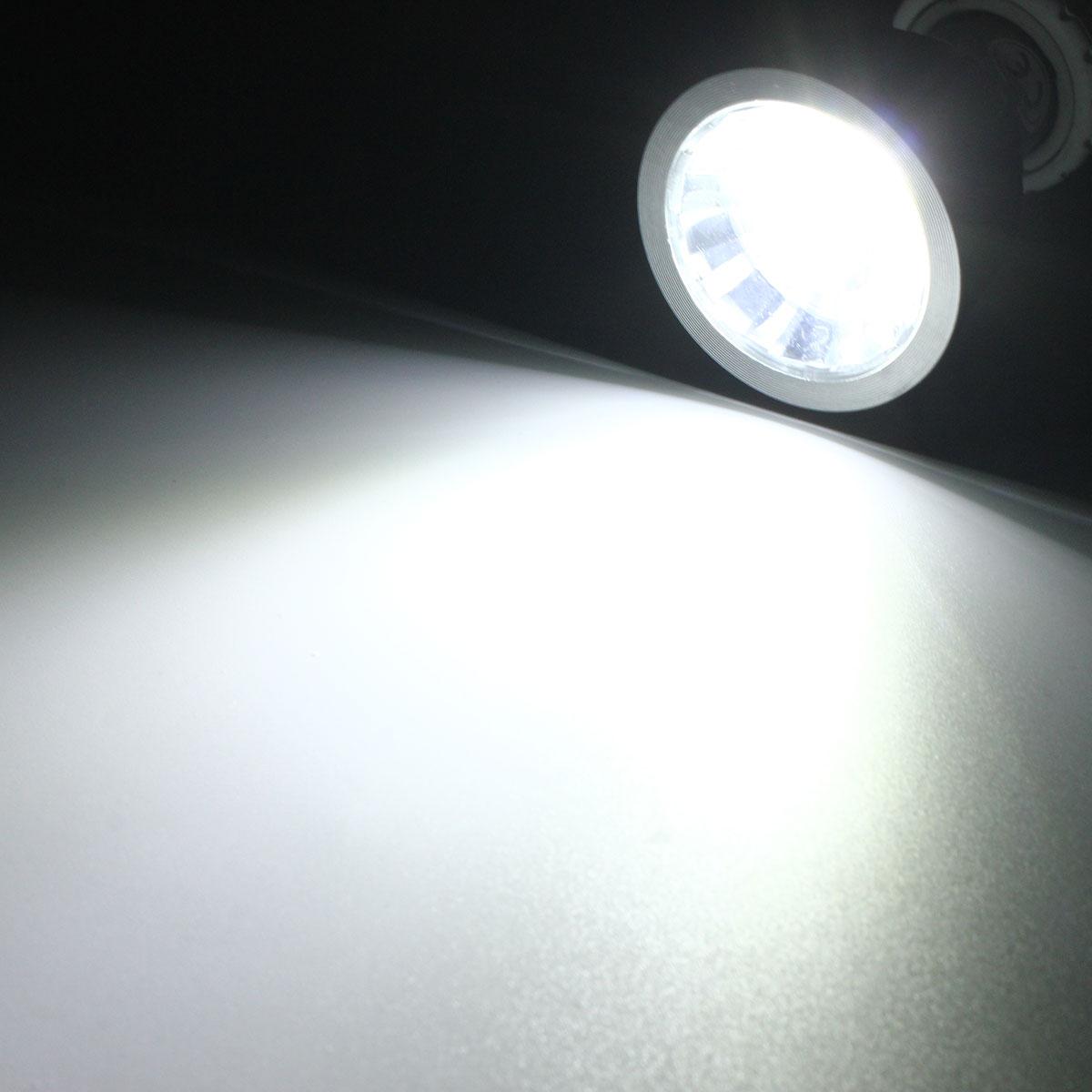 dimmable 6w led ultra bright gu10 cob led spotlight light bulb ac110v 220v. Black Bedroom Furniture Sets. Home Design Ideas
