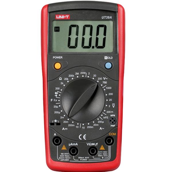 Digital Volt Ohmmeter : Uni t ut a digital lcd count auto power off