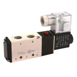 DC12V Pneumatic Aluminum Electric Solenoid Air Valve 5 Way 2 Position Valve 4V210