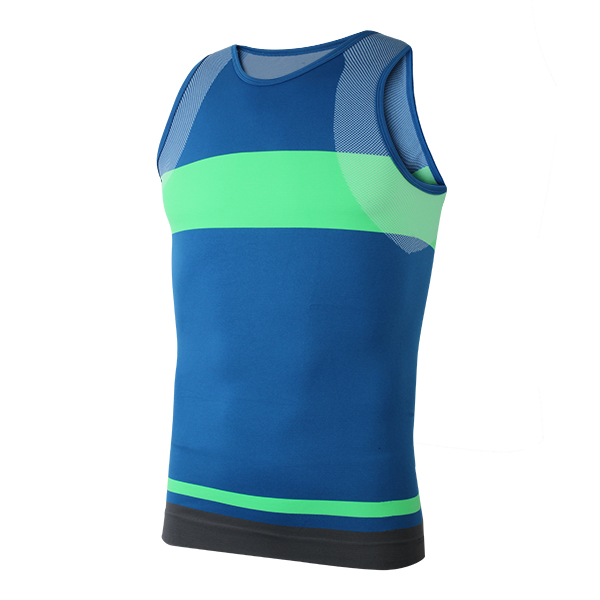 Men Compression Tight Sports Vest Tank Top Stretch Sleeveless Shirt Quick-dry Shapewear Body ...