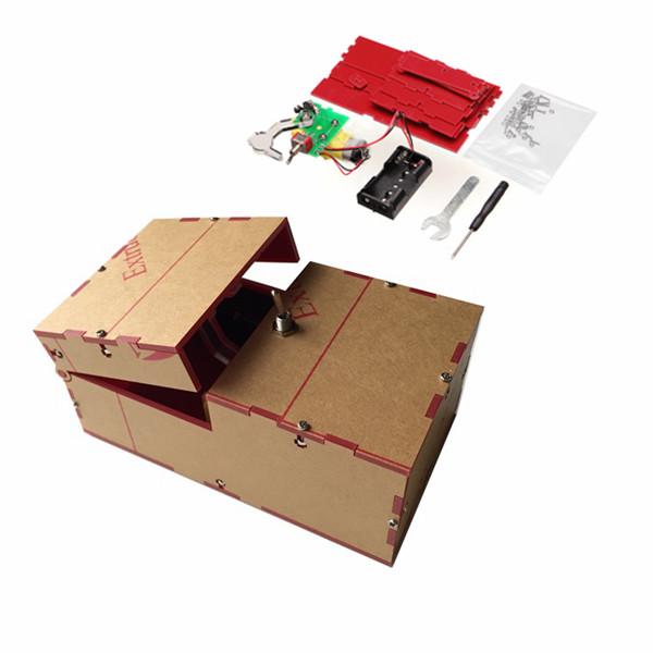 Office Toys For Geeks : Useless box diy kit machine birthday gift toy geek