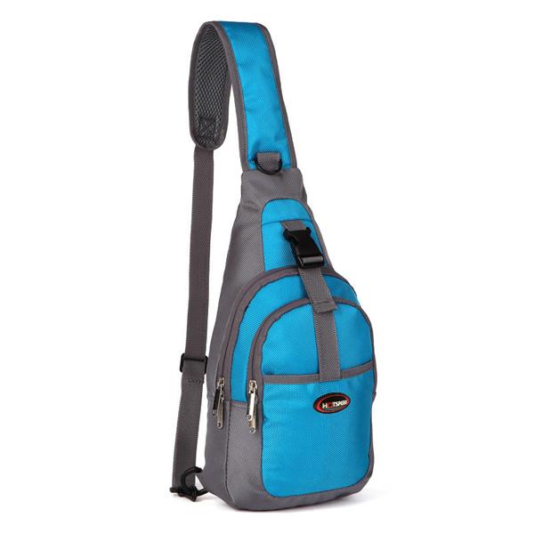 Men Women Waterproof Sport Chest Pouch Shoulder Crossbody Bag
