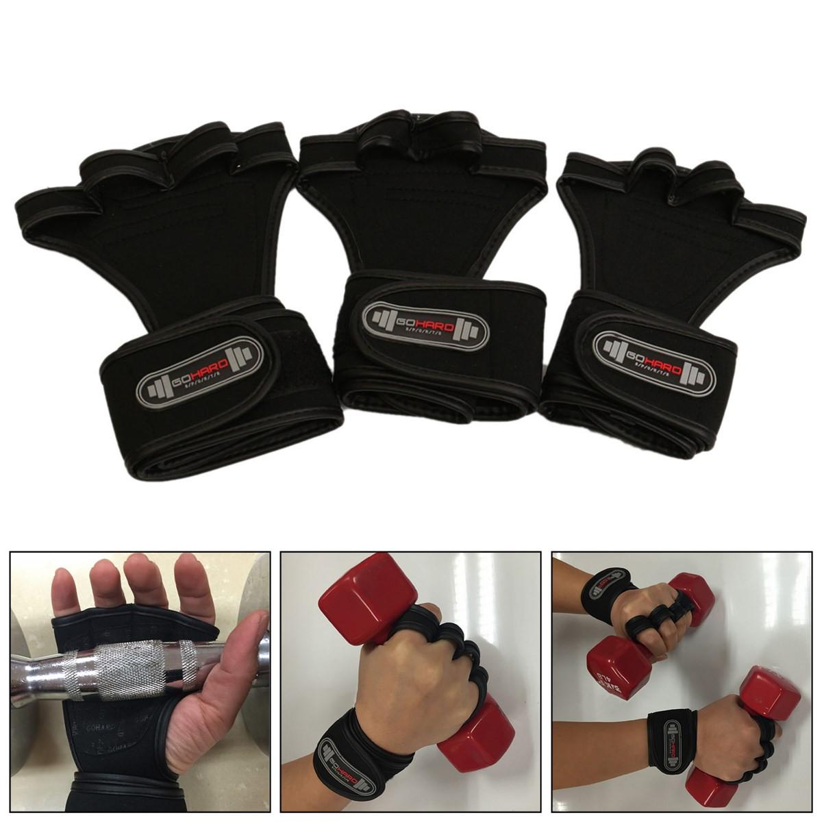 Sport Gloves For Gym: Sports Wrist Bracer Hand Palm Glove For Fitness Gym