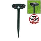 Powerful Ultrasonic Solar-powered Animal Repeller With PIR Sensor & Light Sensor, Got the CE / ROHS Certification