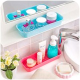 Kitchen Drained Storage Box Sink Organization Stationery Storage Bath Storage Toiletries Storage