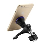 Rotatable Universal Car Air Vent Magnetic Phone Holder Stand Mount for iPhone 6s & 6s Plus, iPhone 6 & 6 Plus, Samsung Galaxy S6 / S6 edge / S6 edge+ / Note 5 Edge, Sony (Dark Blue)