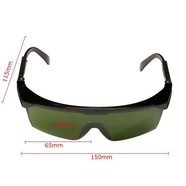 200nm-2000nm Laser Protection Goggles Glasses IPL-2 OD+4D For Laser