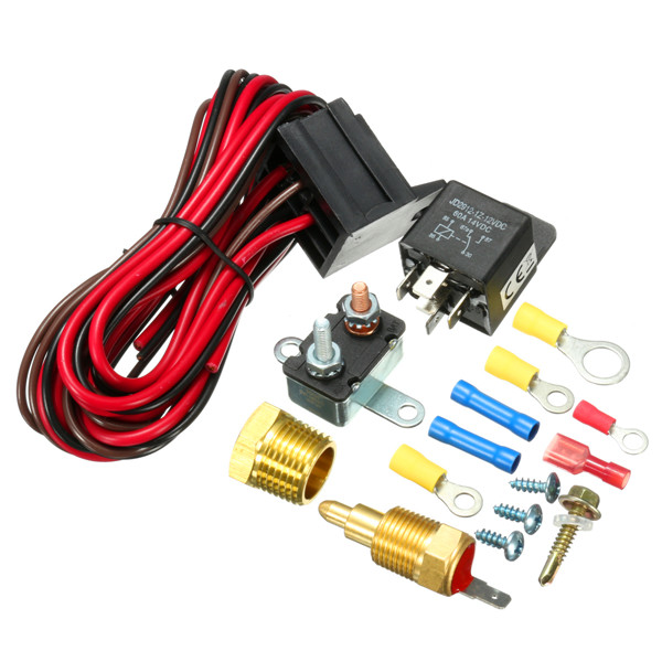 Engine Fan Switch : Degree engine cooling fan thermostat temperature